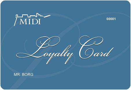 2021 Loyalty Card
