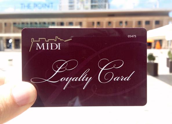 MIDI Loyalty Card