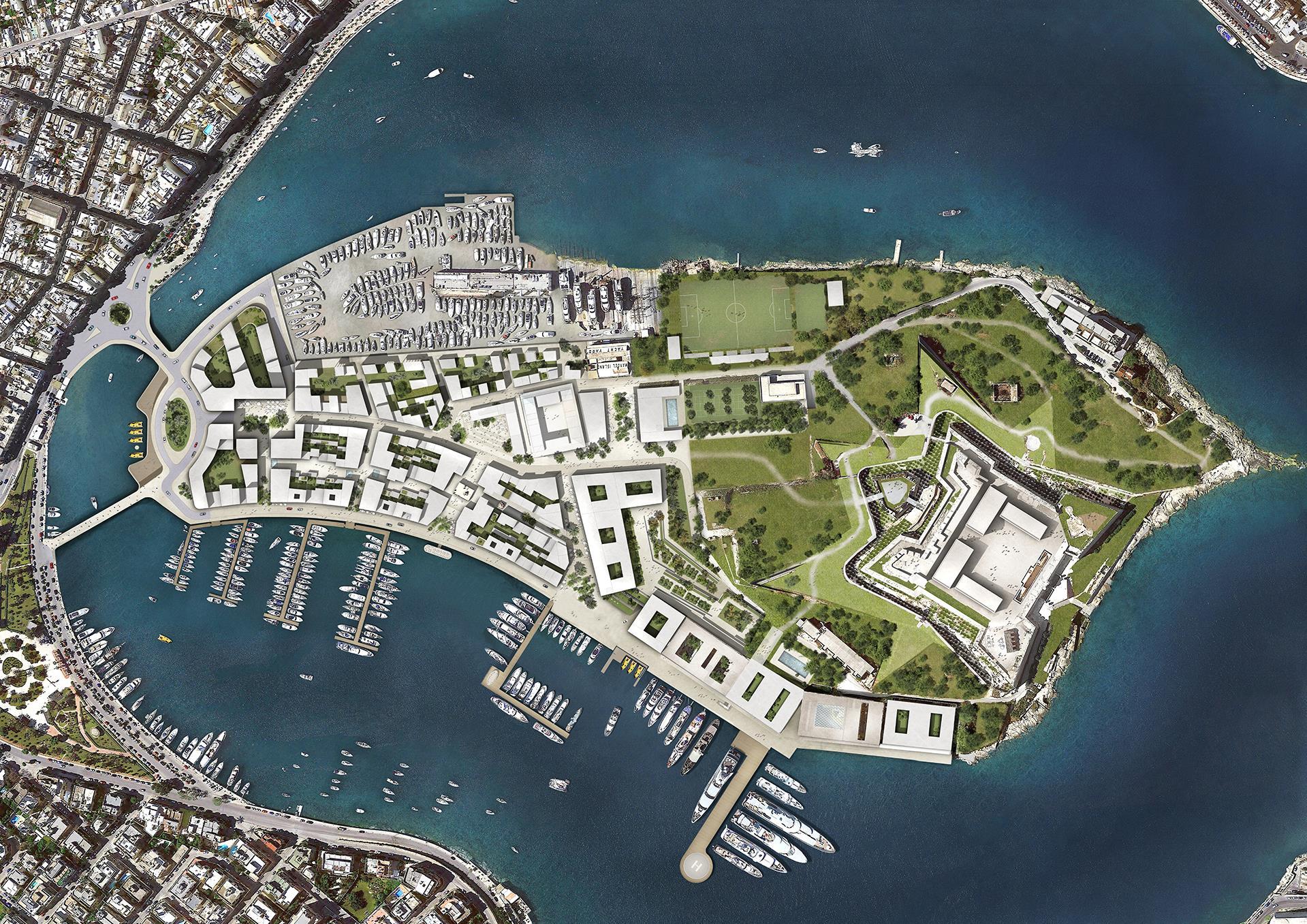 Manoel Island Masterplan