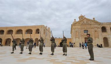 Fort Manoel comes to life during the recent successful Open Weekend
